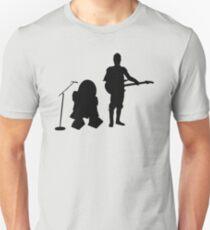 R2D2 C3PO Rock Band T-Shirt