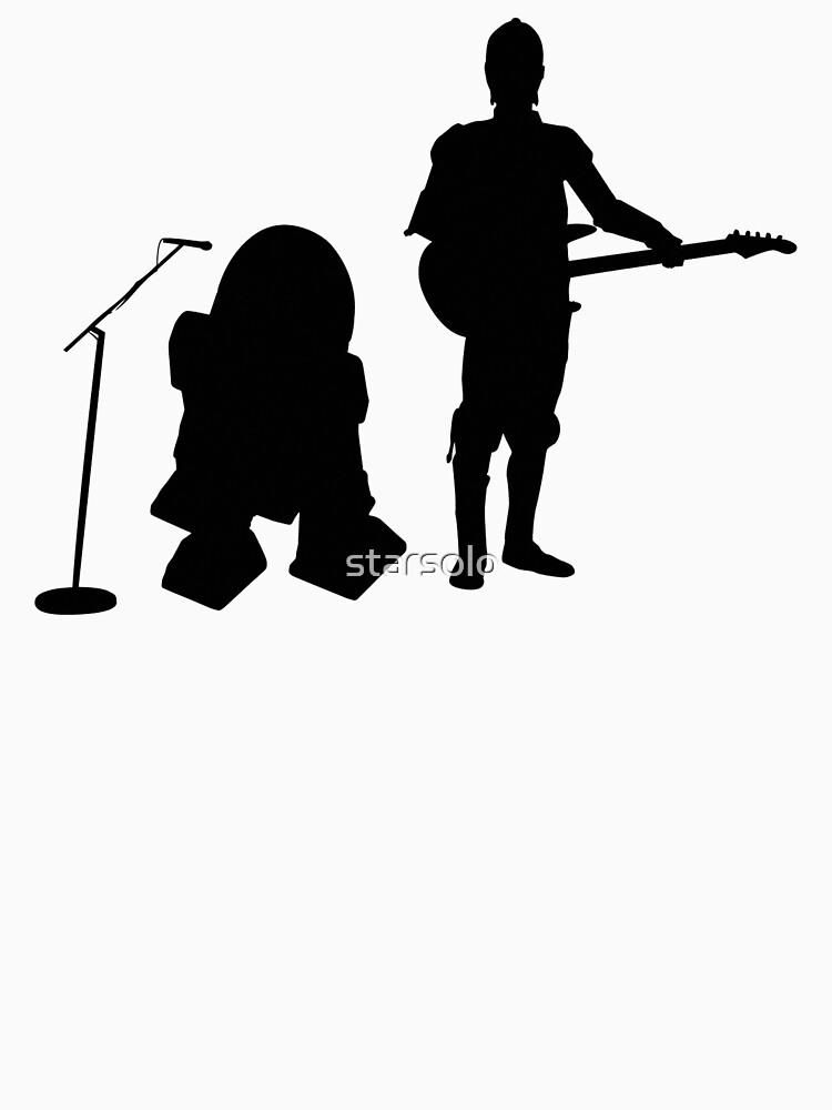 R2D2 C3PO Rock Band by starsolo