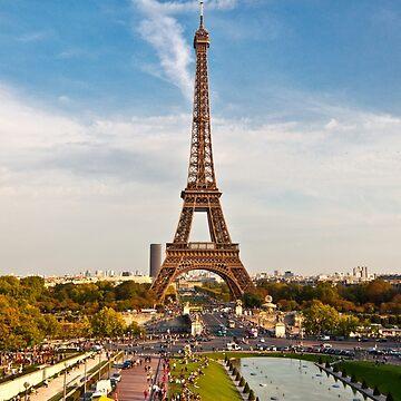 Eiffel Tower by MathieuLongvert