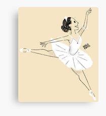 Bailarina de ballet Lienzo
