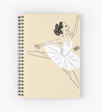 Bailarina de ballet Cuaderno de espiral