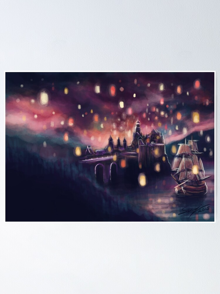 Alternate view of Lights for the Lost Princess Poster