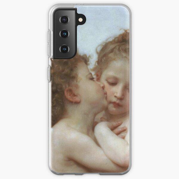 Lamour and Psyche Children – (William Adolphe Bouguereau) Samsung Galaxy Soft Case