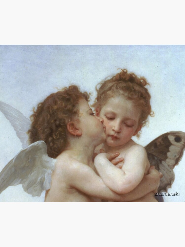 Lamour and Psyche Children – (William Adolphe Bouguereau) by znamenski