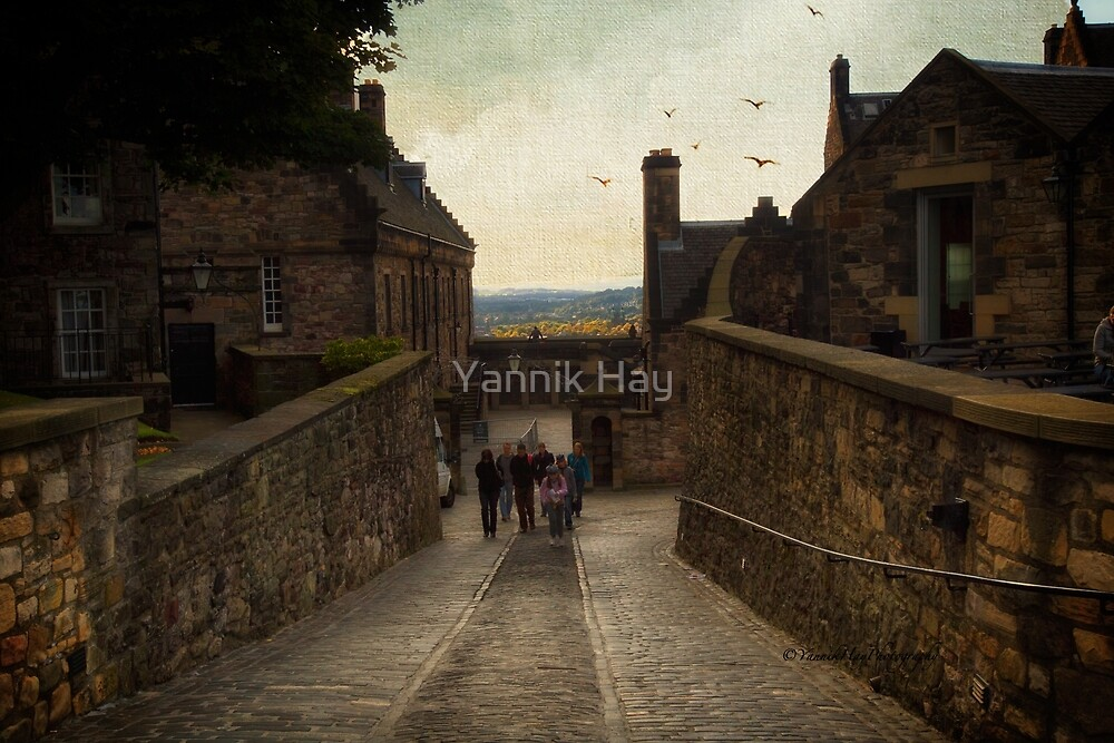Old Cobbled Street - Edinburgh by Yannik Hay