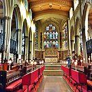 St Peters Parish Church. by Lilian Marshall