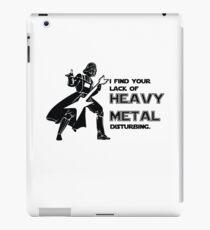 Darth Vader Heavy Metal iPad Case/Skin