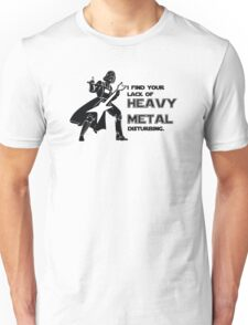 Darth Vader Heavy Metal Unisex T-Shirt