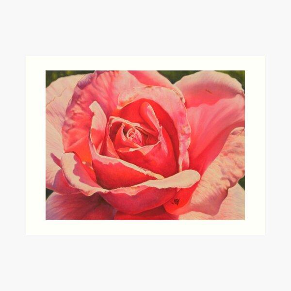 Rose Impression artistique
