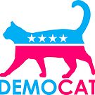 DemoCAT Demo-Cat Democrat - Pink Wave Edition by Thelittlelord