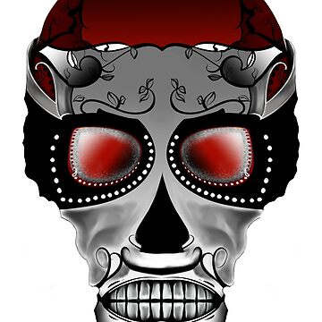 Dia De Los Muertos, Savage Red by MatthewRoss