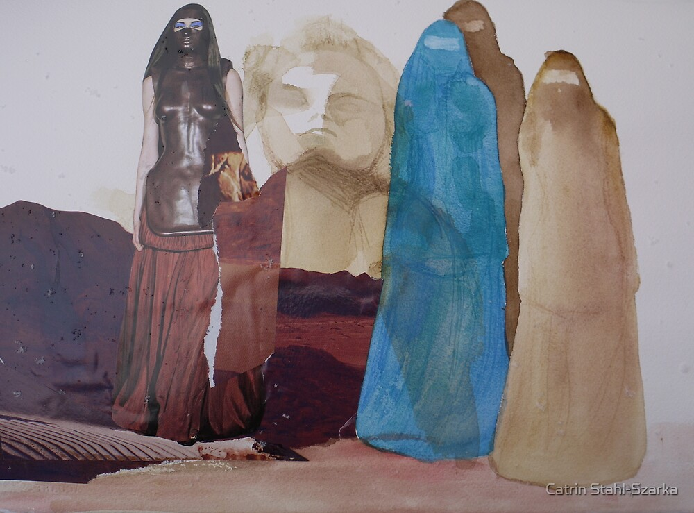 In the desert by Catrin Stahl-Szarka
