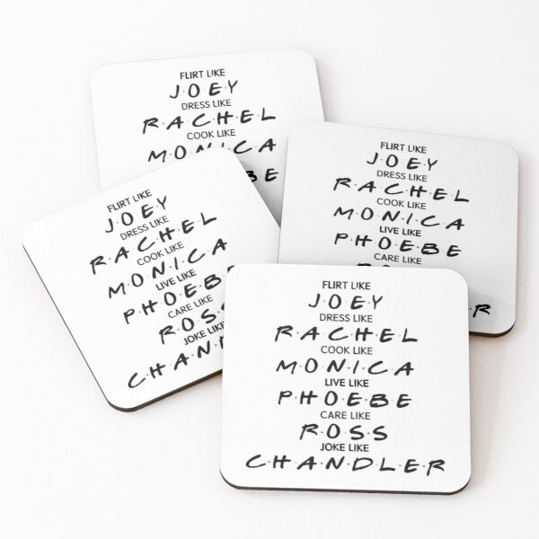 F.R.I.E.N.D.S Coasters (Set of 4)