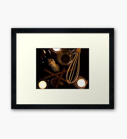 Time for some wine Framed Print