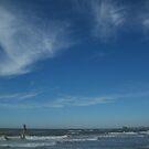 Salt and Sky II - Clearwater Beach, FL by Danielle Ducrest