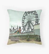 The Quiet in a Crowded Place Throw Pillow