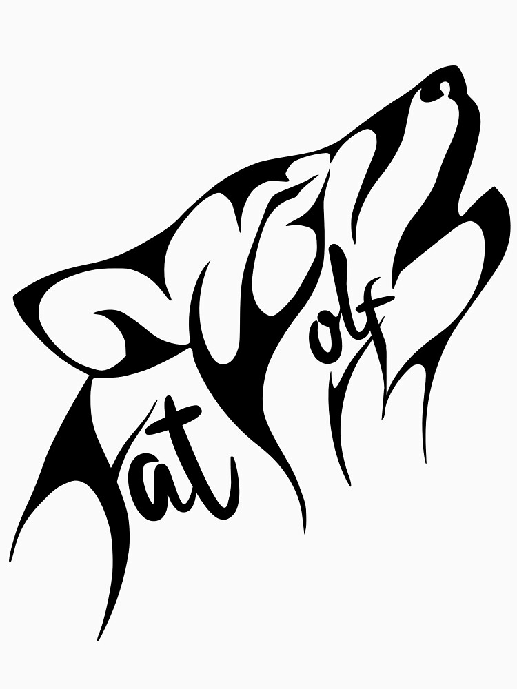 Fat Wolf - Stylised by danbadgeruk