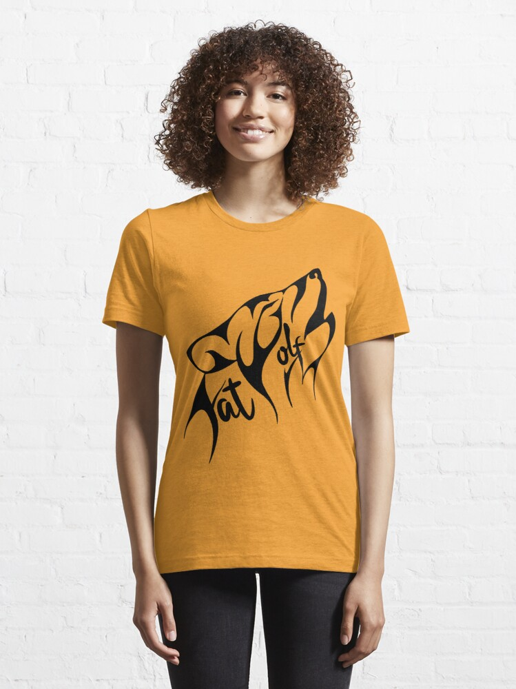 Alternate view of Fat Wolf - Stylised Essential T-Shirt