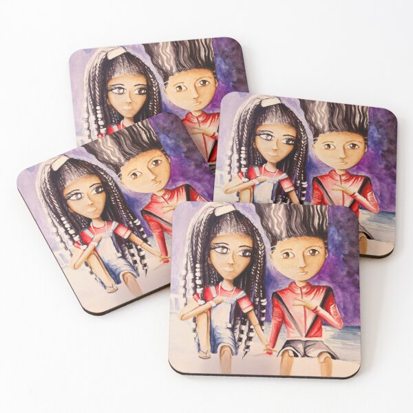 Back in tha Days Coasters (Set of 4)
