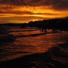 Sunset in Las Grutas by Tomas Sironi