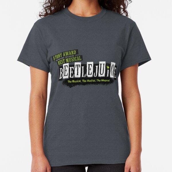 Beetlejuice Musical Broadway Logo Classic T-Shirt