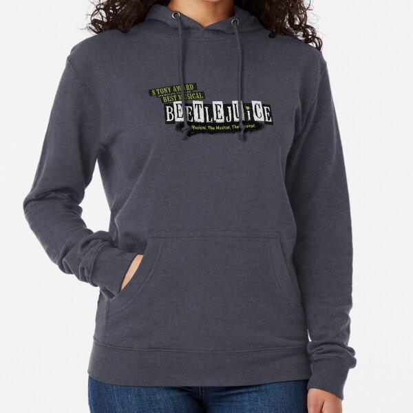 Beetlejuice Musical Broadway Logo Lightweight Hoodie