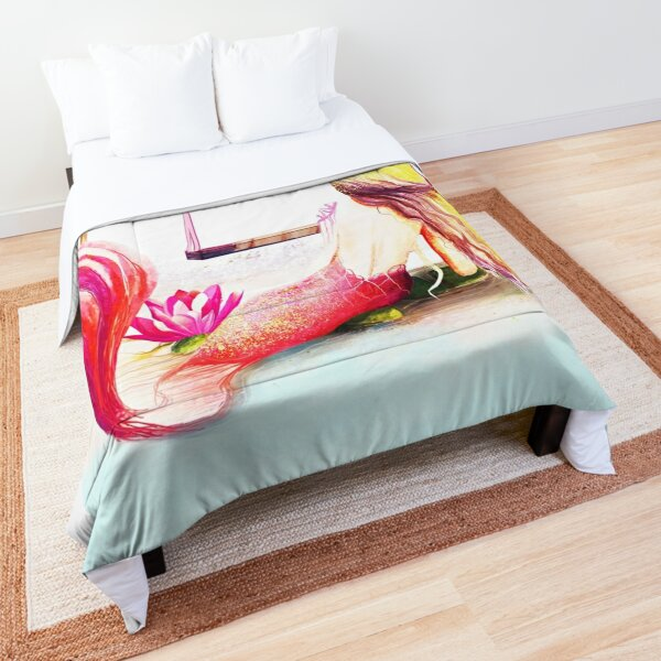 Mermaid Colors Comforter