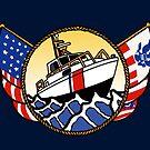 Flags Series - US Coast Guard 41 UTB by AlwaysReadyCltv