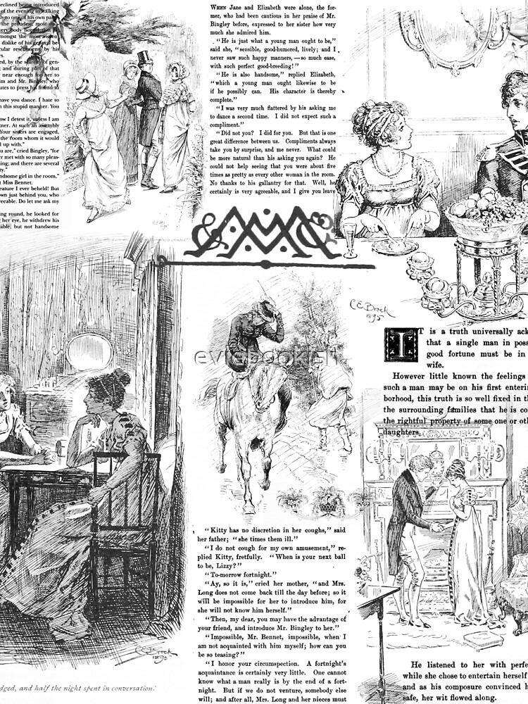 Pride and Prejudice - Pages by eviebookish