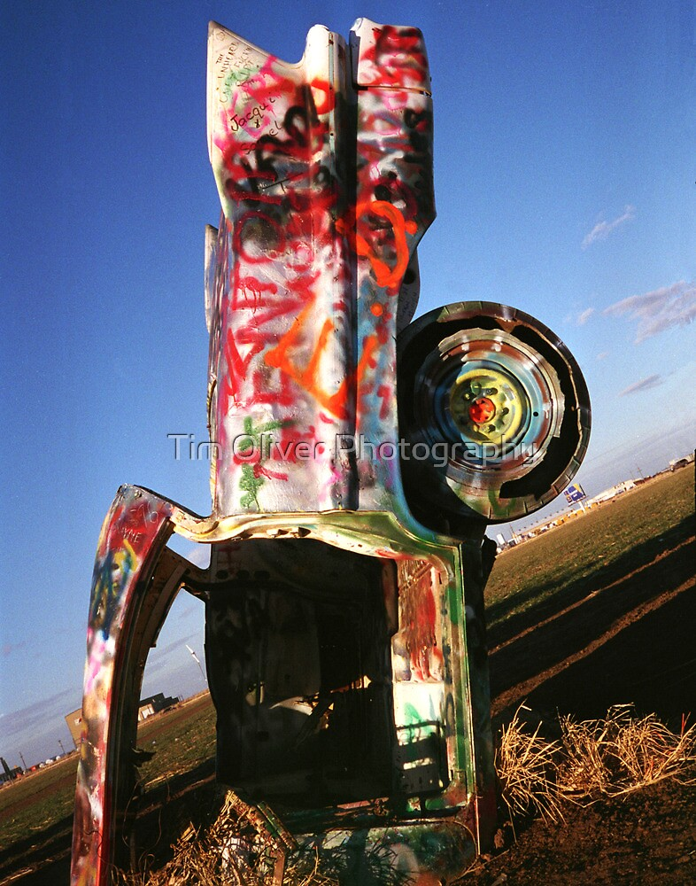 Cadillac Ranch by Tim Oliver Photography