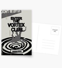Enter the Vortex Club Postcards