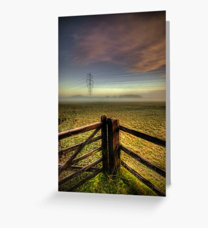 Between The Lines Greeting Card