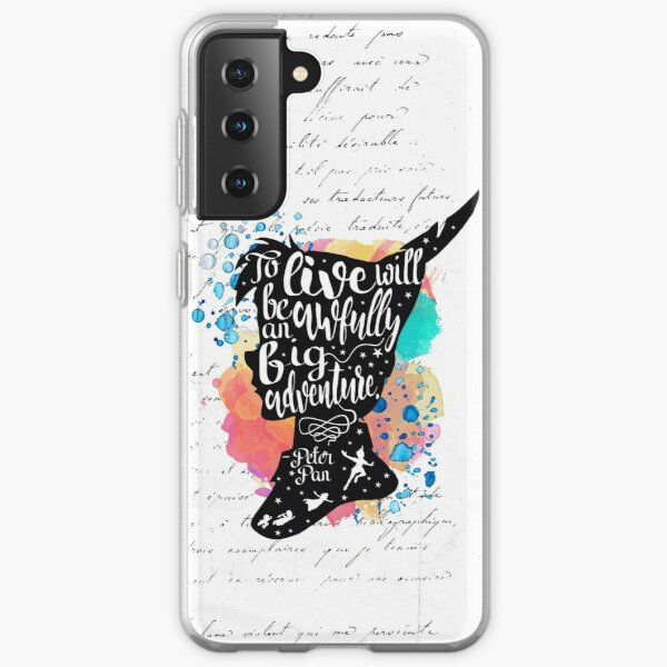 Peter Pan - To Live Samsung Galaxy Soft Case