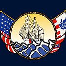 Flags Series - US Coast Guard Cutter Eagle by AlwaysReadyCltv