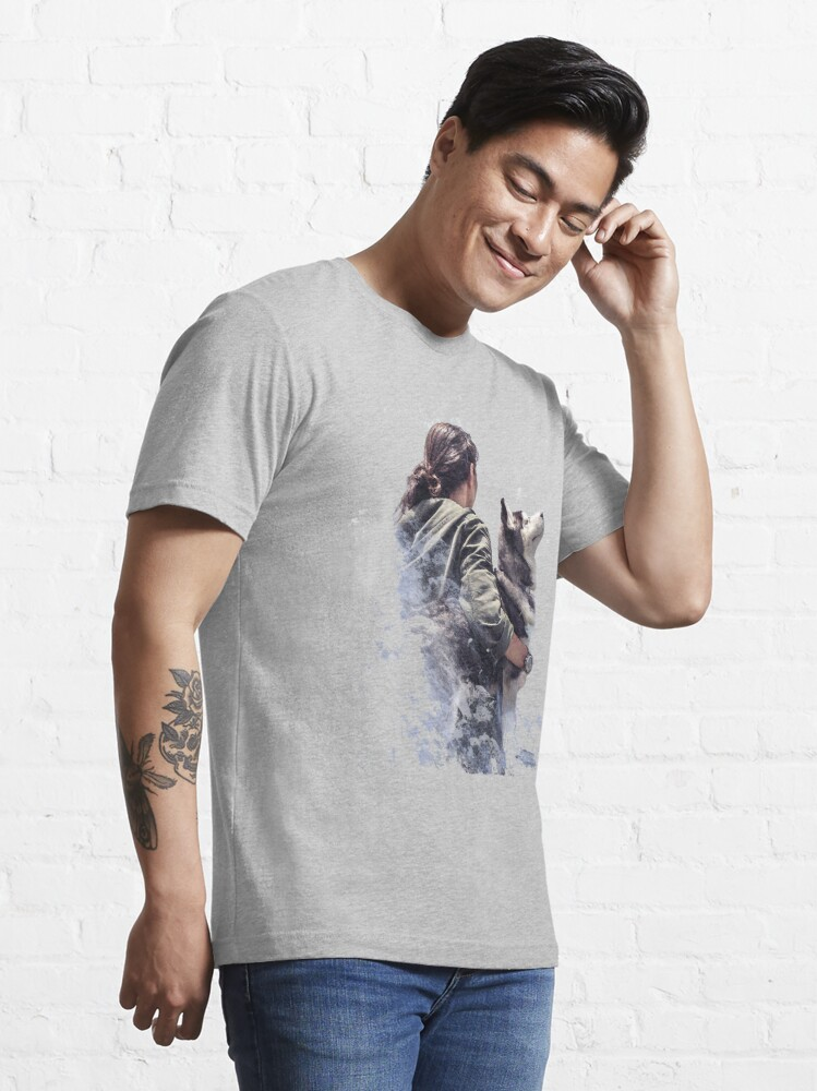 Alternate view of Fat Wolf - Arctic Companion Essential T-Shirt