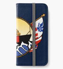 Flags Series - US Coast Guard Buoy Tender iPhone Wallet/Case/Skin