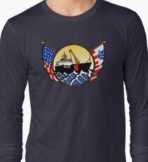 Flags Series - US Coast Guard Buoy Tender Long Sleeve T-Shirt