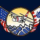 Flags Series - US Coast Guard C-27 Spartan by AlwaysReadyCltv