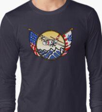 Flags Series - US Coast Guard C-27 Spartan Long Sleeve T-Shirt