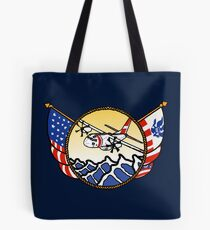 Flags Series - US Coast Guard C-27 Spartan Tote Bag