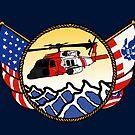 Flags Series - US Coast Guard MH-60 Jayhawk by AlwaysReadyCltv