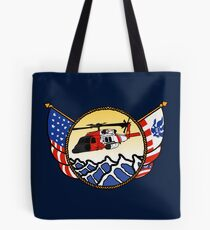 Flags Series - US Coast Guard MH-60 Jayhawk Tote Bag