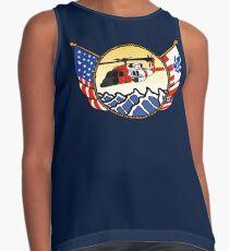 Flags Series - US Coast Guard MH-60 Jayhawk Sleeveless Top
