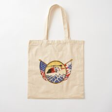 Flags Series - US Coast Guard MH-60 Jayhawk Cotton Tote Bag