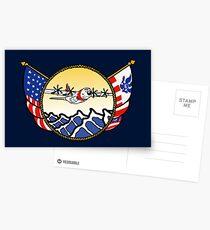 Flags Series - US Coast Guard C-130 Hercules Postcards