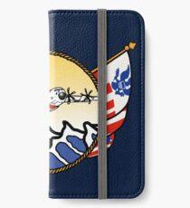 Flags Series - US Coast Guard C-130 Hercules iPhone Wallet/Case/Skin