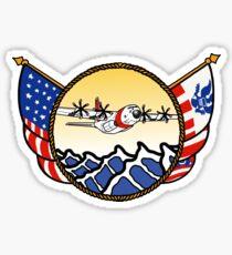 Flags Series - US Coast Guard C-130 Hercules Sticker