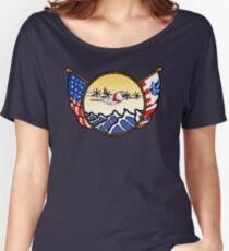 Flags Series - US Coast Guard C-130 Hercules Relaxed Fit T-Shirt