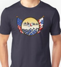 Flags Series - US Coast Guard C-130 Hercules Slim Fit T-Shirt