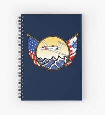 Flags Series - US Coast Guard HU-25 Guardian Spiral Notebook